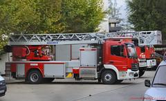 Nueva  Mercedes Atego de los Bomberos de Madrid (Escala de 30) (juanemergencias) Tags: