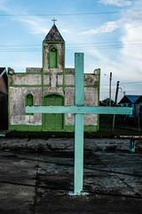 Igreja Evangélica, no Lago Arara, na comunidade São José dos Araras