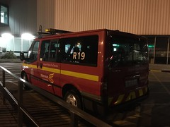 Rescue 19 - R19 - Shannon Airport Police Fire Service  - ARFF - Personnel  Carrier / Crew Vehicle - Ford Transit - Ireland (firehouse.ie) Tags: rescue bus ford fire airport crash mini crew r transit vehicle service van emergency 19 department appliance apparatus dept brigade r19 arff reacue
