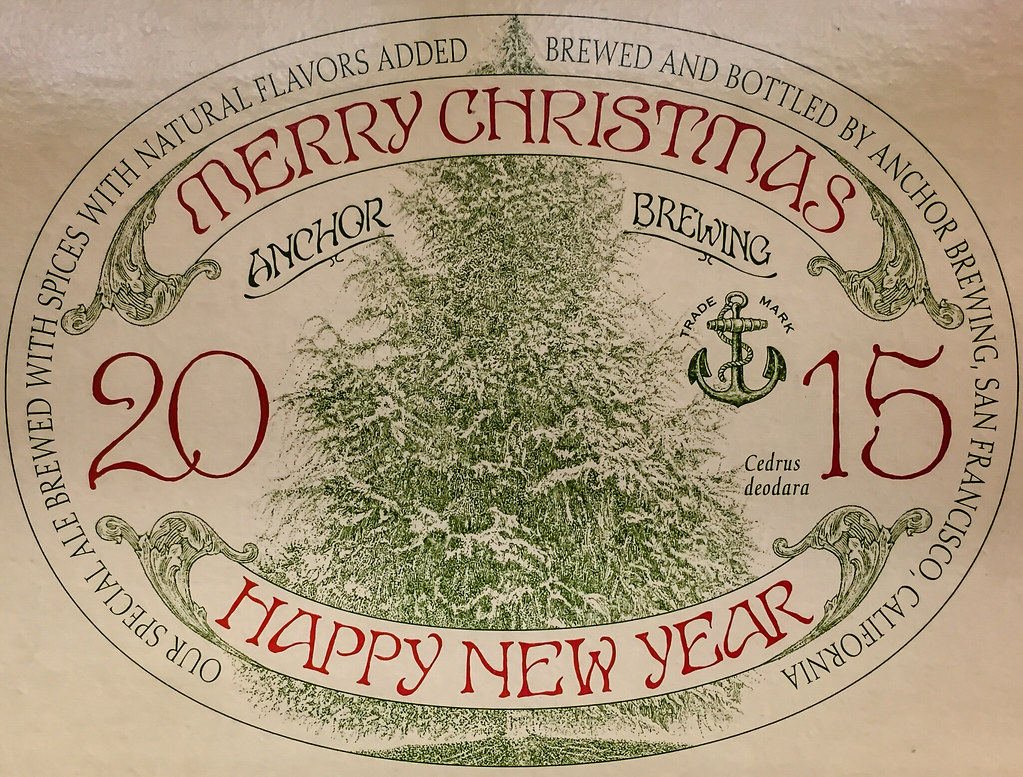 Anchor Brewing 2015 Merry Christmas Happy New Year Ale San Francisco Ca Mbell1975