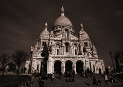 Sacre Coeur (retsoced) Tags: paris france basilica montemartre