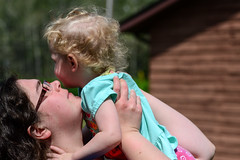 My Best Friend & Her Little Cutie (Vegan Butterfly) Tags: family portrait people woman cute love girl mom outside outdoors kid toddler child mommy daughter mother adorable together