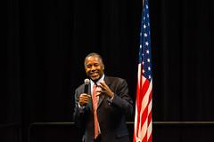 Dr Ben Carson (irabatesjr) Tags: mobile alabama inspire campaign heal universityofsouthalabama frontrunner mitchellcenter drbencarson republicanpresidentialcandidate