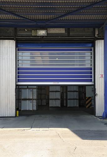 Високошвидкісні спіральні ворота STR-L, найшвидші вертикальні ворота в світі