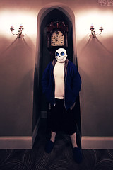 Undertale: Sans (tonicnebula) Tags: game photography scary cosplay steam spooky rpg indie skeletons sans ausa videogamecosplay indierpg bearpigman undertale tobyfox sanscosplay undertalecosplay