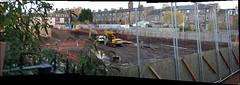 Back to basinics (beqi) Tags: panorama history canal edinburgh stonework basin photoshoppery unioncanal 2015 lochrin