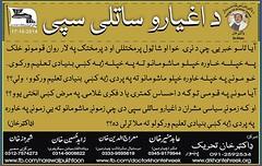 da aghyaro sataly spee (idreesdurani786) Tags: she de dr ke khan vote yaw      khoob    mashar  tehreek       rekhtya