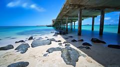 Feel the Calm (mikekreationzz) Tags: ocean longexposure art beach landscape fun hawaii landscapes amazing interesting nikon surf waves oahu piers side east stop hawaiian filters gitzo makapuu d800 teamnikon nikonusa nd10 iamnikon wonderpana