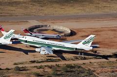 N489EV Boeing B747 c/n 23393 Evergreen International (eLaReF) Tags: marana airplane boneyard scrapyard parting out pinal aeroplane n489ev boeing b747 cn 23393 evergreen international