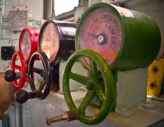 Technicolor Steampunk (adrparkinson) Tags: ship controls throttle