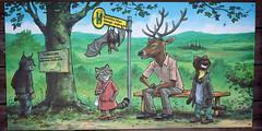 Bus stop (Cloudtail the Snow Leopard) Tags: wildkatze pfad bad herrenalb cloudtailthesnowleopard