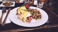 Blu Jam Caf (aisforapples.ca) Tags: cafe california losangeles melroseave brunch frenchtoast eggsbenedict eggsbenny food foodpics travel travelblog