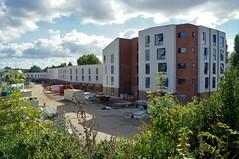 New Flats. (dlanor smada) Tags: building construction aylesbury bucks chilterns flats