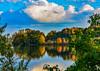 Lion Cloud !! (Daveyal_photostream) Tags: d600 nikon nikor nature waterscape water beautiful beauty bluesky clouds trees outdoor outdoors meandmygear mygearandme mycamerabag motion movement landscape blue anawesomeshot serene peaceful autum leaf leves reflection sky bright hdr
