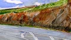 route 00 (Frdric Glorieux) Tags: frdricglorieux france route road peinture painting a4 acryl