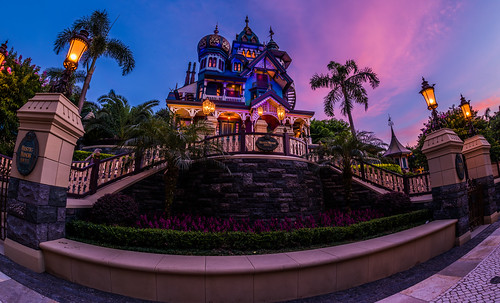 Mystic Manor Sunset