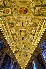 Time And Clutter (Jeremy Brooks) Tags: architecture ceiling italy lazio rome vatican vaticancity camera:make=fuji camera:make=fujifilm camera:model=xpro1 roma it