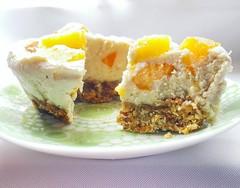 Raw Vegan Fruit Ice Cream Cake (Vegan Cheesecake) (myhealthydessert) Tags: raw vegan ice cream icecream dessert sweet recipe recipes healthy coconut cake cheesecake glutenfree dairyfree eggfree fruits fruit frozen