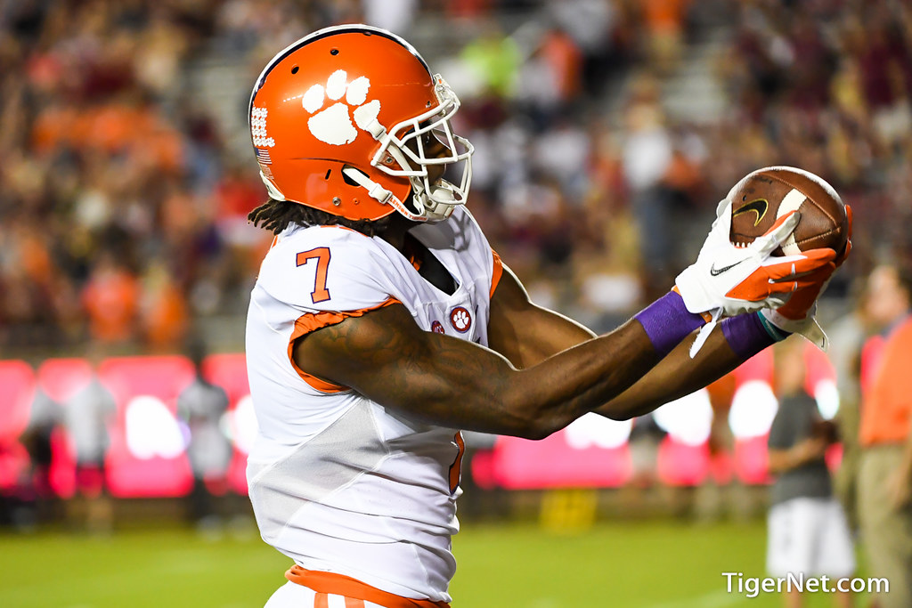 Clemson Photos: Mike  Williams, 2016, Football, Florida  State