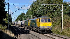 freightliner (midcheshireman) Tags: train electric freight cheshire freightliner railway