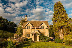 Cottage thing (WhitcombeRD) Tags: baby autumn cottage england westonbirt building traditional