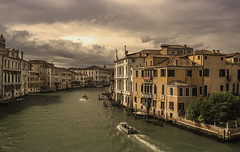 Storm Clouds over Grand Canal, Venice (Sorin Popovich) Tags: venice stormcloud cloudy grandcanal pontedellaccademia palazzo palaces boats veneto italy overcast architecture buildings colourimage nopeople oldtown sea sunlight surreal travel traveldestinations europe sanmarco 24mm venezia d810 nikkor