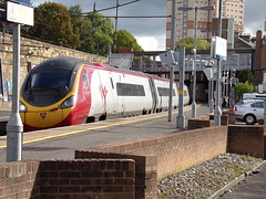 MOTHERWELL 390141 CITY OF CHESTER (johnwebb292) Tags: electric class 390 390141 cityofchester virgin pendolino motherwell