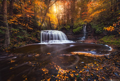 Secret Falls (Matt Anderson Photography) Tags: michigan upperpeninsula bondfalls colorimage consumerproduct flowingwater horizontal idyllic longexposure motion nature nopeople ontonagonriver outdoors photography reflection rippled speed statepark sunset tranquilscene usa waterfall autumn beautyinchange day plant saultstemarie tranquility 2016 fall lakesuperior exposure mattandersonphotography peninsula seasonal upper cascades rockriver onota alger swirls eddy pattern madison wisconsin magical aura ethereal scenic vista