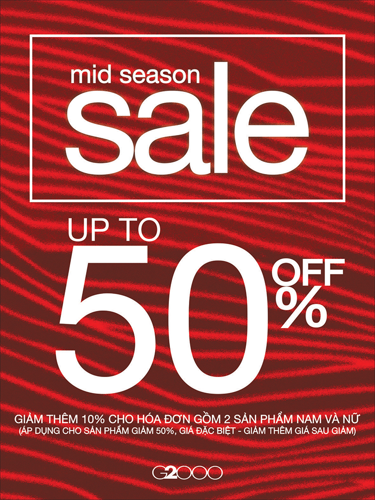 G2000 MID SEASON SALE