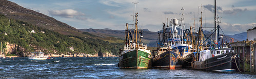 Ullapool and Loch Broom; Ross-shire, Scotland