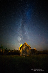 Things Just Got Real (Thousand Word Images by Dustin Abbott) Tags: canonef1635mmf28liiiusm milkyway ramshackle lens stars nightscene adobelightroomcc 2016 farmhouse dustinabbottnet thousandwordimages test alienskinexposurex2 review photography petawawa fullframe pembroke canoneos5dmarkiv comparison ontario canada nightscape canon5d4 adobephotoshopcc photodujour dustinabbott ca astrophotography