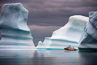 The Way Through Greenland's Icebergs