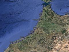 Route Asilah El Jadida1 (bollene57) Tags: asilah 2016 marokko