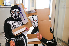 909A7280 (BGCSF) Tags: admin staff halloween potluck lunch costumes don fisher clubhouse