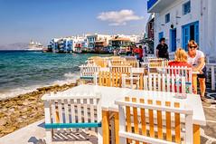 Little Venice (Kevin R Thornton) Tags: d90 nikon travel street littlevenice greece mykonos landscape mediterranean mikonos egeo gr