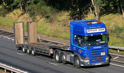 SCANIA R420 - METCALFE FARMS Leyburn North Yorks.