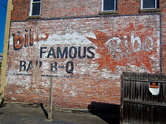 Bill's, Yorkville, OH (Robby Virus) Tags: yorkville ohio bills famous ribs wings sign signage barbq barbecue bbq