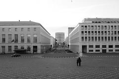 Marmo Bianco (Valerio Paolucci) Tags: eur bw blackandwhite prospettiva palazzo colosseoquadrato roma italia arte storia canon 7d 1855mm mono streetphotography