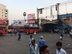 Thane Railway Station ST Bus Stand (Depot) back site view MSRTC (YOGESH CHOUGHULE) Tags: thanerailwaystationstbusstanddepotbacksiteviewmsrtc thane railway station st bus stand depot back site view msrtc