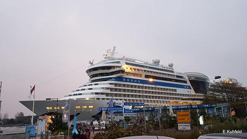 AIDAmar an der Pier 7