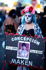 All Souls 12 (barbara carroll) Tags: diadelosmuertos allsoulsprocession dayofthedead calavera tucson sacred autumn