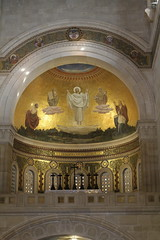 High altar - Church of the Transfiguration (A Wandering Oblate) Tags: eohsj mounttabor holyland