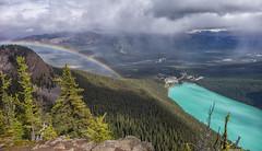 Lake Louise rainbow (djmeister) Tags: lakelouise canadian national rainbow big beehive canada park rockies