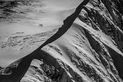 Wild Range (West Leigh) Tags: alaska mountains mountaineering denali blackandwhite hike explore experience dream discover snow crevasse landscape