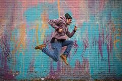Running Man  #Detroit #Portrait #City #Mural #Art #Jumpman #RunningMan #Model #DetroitMichigan #Michigan (kallyone) Tags: detroitmichigan art model mural michigan runningman portrait detroit jumpman city