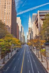 E. 42nd (JMS2) Tags: street 42ndstreet manhattan nyc newyorkcity architecture chryslerbuilding