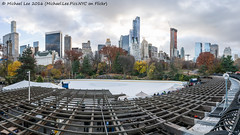 Wollman Rink Pano (DSC05521-Pano-Edit) (Michael.Lee.Pics.NYC) Tags: newyork centralpark wollmanrink trump iceskating cityscape architecture cloudy panorama handheld sony a7rm2 voigtlanderheliar15mmf45