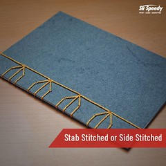 Types of Book Binding-Stab Stitched or Side Stitched (SirSpeedyIndore) Tags: bookbinding services sidestitched stabstitched sirspeedy