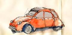 Ente (skizzenpfade) Tags: skizzenpfade urbansketching watercolor ente sketch