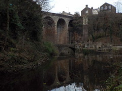473 Union Road Viaduct from the South (brigster) Tags: rivermersey rivergoyt cheshire derbyshire newmills torrsgorge